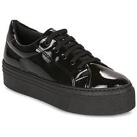 Παπούτσια Γυναίκα Χαμηλά Sneakers André SODA Black / Vernis