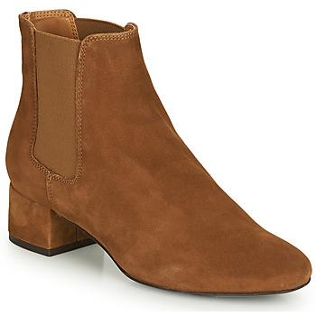 Παπούτσια Γυναίκα Μπότες André ECLAIRCIE Camel