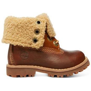 Παπούτσια Παιδί Μπότες Timberland Auth 6in shrl bt Καφέ