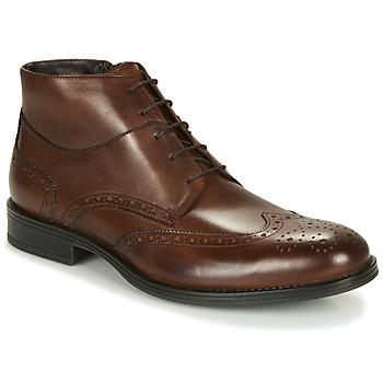 Παπούτσια Άνδρας Μπότες André LORMAND Brown