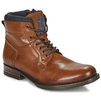 Παπούτσια Άνδρας Μπότες André CLABA Cognac