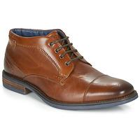 Παπούτσια Άνδρας Μπότες André BARTHUS Cognac