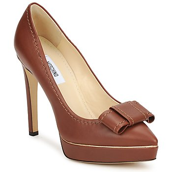 Παπούτσια Γυναίκα Γόβες Moschino MA1009 TOBACCO