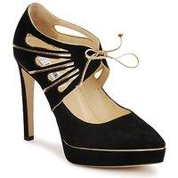 Παπούτσια Γυναίκα Γόβες Moschino MA1004 Nero-or