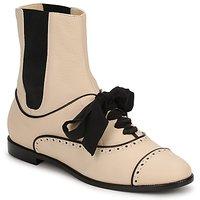 Παπούτσια Γυναίκα Μπότες Moschino MA2103 Beige