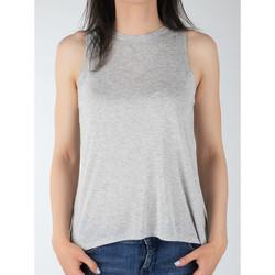 Υφασμάτινα Γυναίκα Αμάνικα / T-shirts χωρίς μανίκια Lee Tank L40MRB37 grey