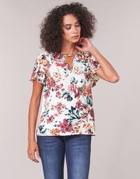 Υφασμάτινα Γυναίκα Μπλούζες Casual Attitude LAURIANA Άσπρο / Multicolour