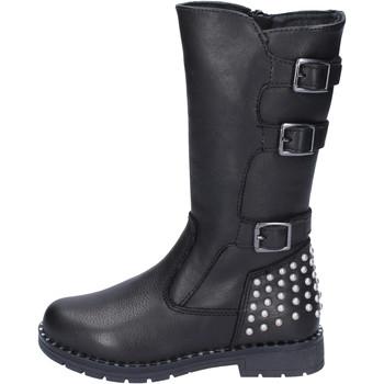 Παπούτσια Κορίτσι Μπότες για την πόλη Didiblu BR519 Μαύρος