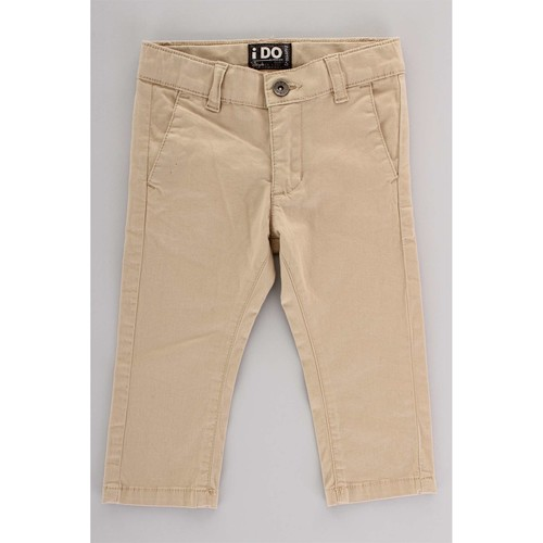 Υφασμάτινα Παιδί παντελόνι παραλλαγής Ido 4U230 Beige