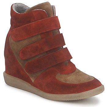 Παπούτσια Γυναίκα Ψηλά Sneakers Meline IMTEK BIS Brown / Red
