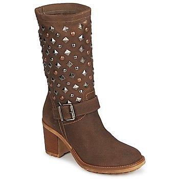 Παπούτσια Γυναίκα Μπότες για την πόλη Meline DOTRE Brown