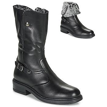 Παπούτσια Κορίτσι Μπότες για την πόλη André MOSCOU Black