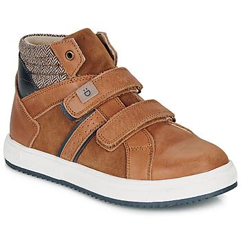 Παπούτσια Αγόρι Ψηλά Sneakers André TIMOTHE Brown