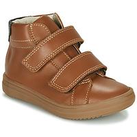 Παπούτσια Αγόρι Ψηλά Sneakers André EDGAR Brown