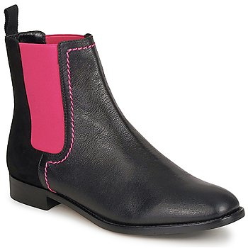 Παπούτσια Γυναίκα Μπότες Moschino Cheap & CHIC CA2112 Black / Ροζ