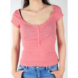 Υφασμάτινα Γυναίκα T-shirt με κοντά μανίκια Lee L428CGXX red, white