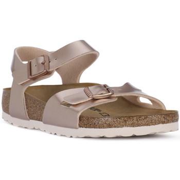 Παπούτσια Κορίτσι Σανδάλια / Πέδιλα Birkenstock RIO METALLIC LILAC Grigio