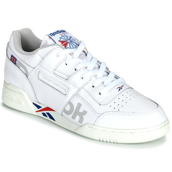 Παπούτσια Χαμηλά Sneakers Reebok Classic WORKOUT PLUS MU Άσπρο / Μπλέ / Red