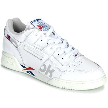 Xαμηλά Sneakers Reebok Classic WORKOUT PLUS MU ΣΤΕΛΕΧΟΣ: Δέρμα και συνθετικό & ΕΠΕΝΔΥΣΗ: Ύφασμα & ΕΣ. ΣΟΛΑ: Ύφασμα & ΕΞ. ΣΟΛΑ: Καουτσούκ