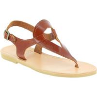 Παπούτσια Γυναίκα Σανδάλια / Πέδιλα Attica Sandals ARTEMIS CALF DK-BROWN marrone
