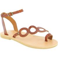 Παπούτσια Γυναίκα Σανδάλια / Πέδιλα Attica Sandals APHRODITE CALF DK-BROWN marrone