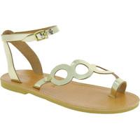Παπούτσια Γυναίκα Σανδάλια / Πέδιλα Attica Sandals APHRODITE CALF GOLD oro