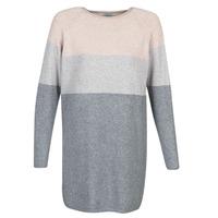 Υφασμάτινα Γυναίκα Κοντά Φορέματα Only ONLLILLO Grey / Ροζ