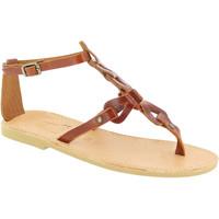 Παπούτσια Γυναίκα Σανδάλια / Πέδιλα Attica Sandals GAIA CALF DK-BROWN marrone