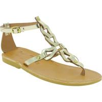 Παπούτσια Γυναίκα Σανδάλια / Πέδιλα Attica Sandals GAIA CALF GOLD oro