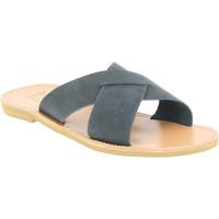 Παπούτσια Άνδρας Τσόκαρα Attica Sandals ORION NUBUCK BLACK nero