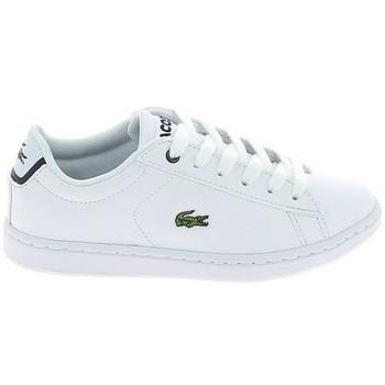 Παπούτσια Χαμηλά Sneakers Lacoste Carnaby Evo BL C Blanc Marine Άσπρο