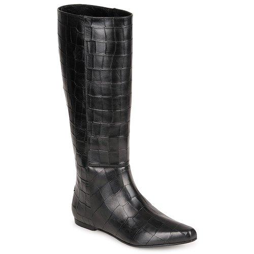 Παπούτσια Γυναίκα Μπότες για την πόλη Roberto Cavalli SPS749 Black