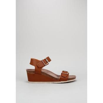 Παπούτσια Γυναίκα Σανδάλια / Πέδιλα Senses & Shoes  Brown