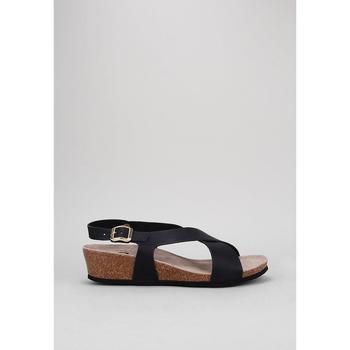 Παπούτσια Γυναίκα Σανδάλια / Πέδιλα Senses & Shoes  Black