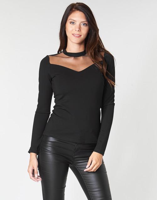 Υφασμάτινα Γυναίκα Μπλούζες Moony Mood PLAMELI Black