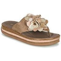 Παπούτσια Γυναίκα Σαγιονάρες Think ZEGA Beige