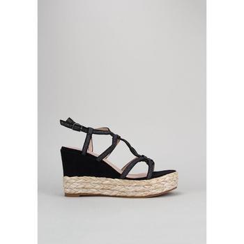 Παπούτσια Γυναίκα Σανδάλια / Πέδιλα D'angela  Black