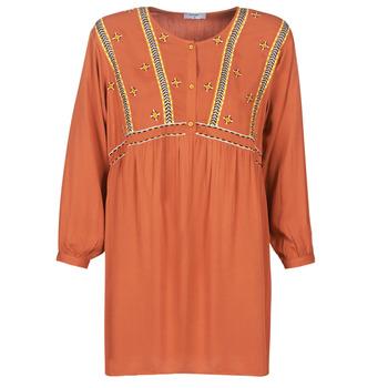 Υφασμάτινα Γυναίκα Κοντά Φορέματα Betty London LOULIA Orange