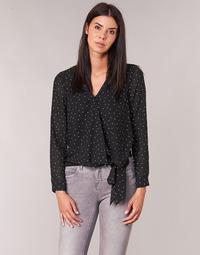 Υφασμάτινα Γυναίκα Μπλούζες Moony Mood LUKE Black