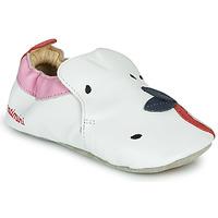 Παπούτσια Κορίτσι Παντόφλες Catimini CIRINI Άσπρο / Ροζ