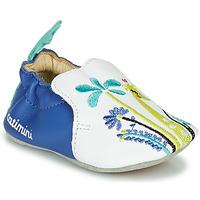 Παπούτσια Κορίτσι Παντόφλες Catimini COLIMA Άσπρο / Μπλέ