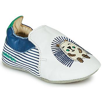Παπούτσια Αγόρι Παντόφλες Catimini COFFI Άσπρο / Μπλέ / Green