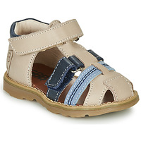 Παπούτσια Αγόρι Σανδάλια / Πέδιλα GBB DIMMI Beige / Μπλέ