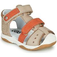 Παπούτσια Αγόρι Σανδάλια / Πέδιλα GBB EUZAK Beige / Orange
