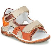 Παπούτσια Αγόρι Σανδάλια / Πέδιλα GBB EROPE Beige / Orange