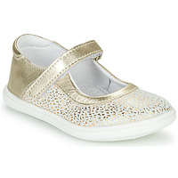 Παπούτσια Κορίτσι Μπαλαρίνες GBB PLACIDA Άσπρο / Gold