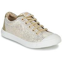 Παπούτσια Κορίτσι Χαμηλά Sneakers GBB MATIA Άσπρο / Gold
