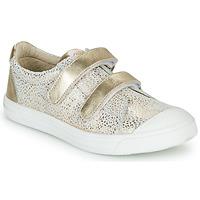 Παπούτσια Κορίτσι Χαμηλά Sneakers GBB NOELLA Άσπρο / Gold