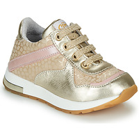 Παπούτσια Κορίτσι Χαμηλά Sneakers GBB LELIA Beige / Gold