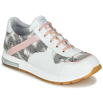 Παπούτσια Κορίτσι Χαμηλά Sneakers GBB LELIA Άσπρο / Black / Ροζ